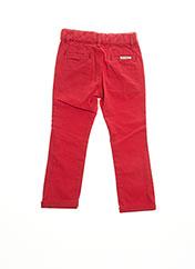 Pantalon casual rouge BILLYBANDIT pour fille seconde vue