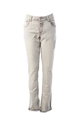 Jeans coupe slim gris GARCIA pour garçon