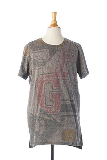 T-shirt manches courtes gris GARCIA pour garçon