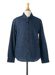 Chemise manches longues bleu GARCIA pour garçon seconde vue
