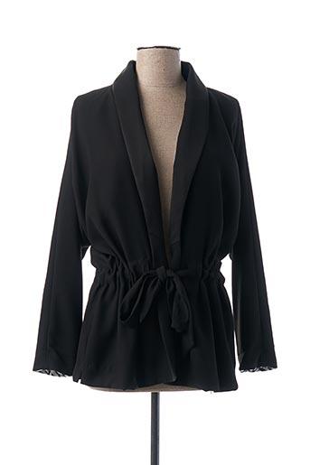 Veste chic / Blazer noir MY SUNDAY MORNING pour femme