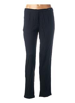 Pantalon chic bleu BELLE & COEUR pour femme