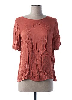Top orange PAKO LITTO pour femme