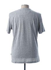 T-shirt manches courtes gris ARISTOW pour homme seconde vue
