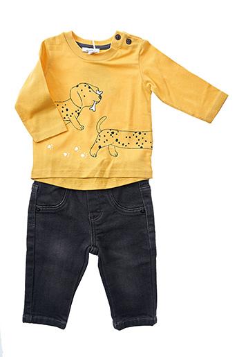 Top/pantalon jaune ABSORBA pour garçon