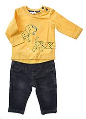 Top/pantalon jaune ABSORBA pour garçon seconde vue