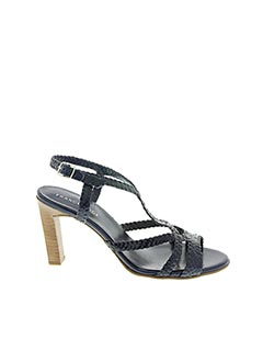 Sandales/Nu pieds bleu FRANCE MODE pour femme