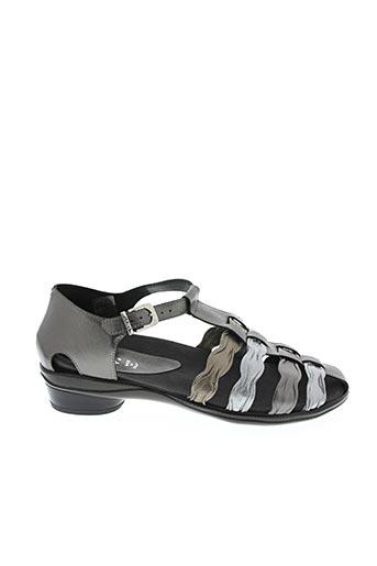 Sandales/Nu pieds gris ARRIVA pour femme