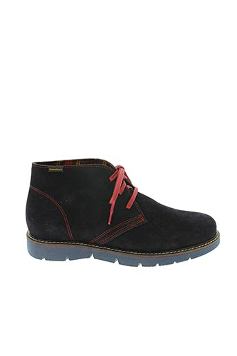 Bottines/Boots bleu HIMALAYA pour homme