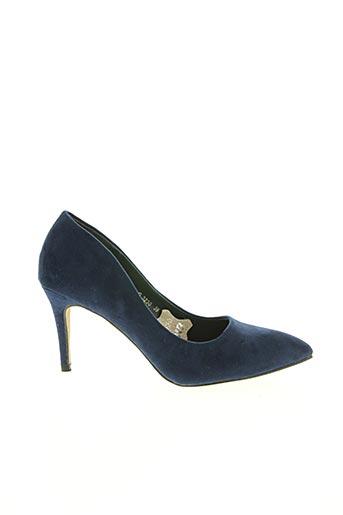 Escarpins bleu J&J SHOES pour femme