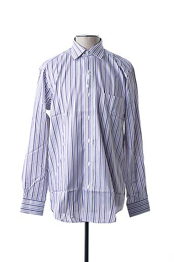 Chemise manches longues violet ARROW pour homme