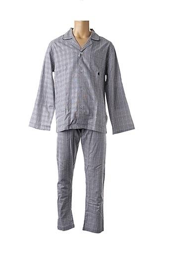 Pyjama noir GUASCH pour homme