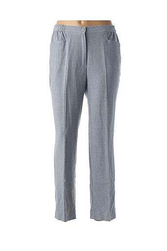 Pantalon casual gris FINNKARELIA pour femme