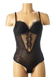 Body lingerie noir CHRISTIES pour femme