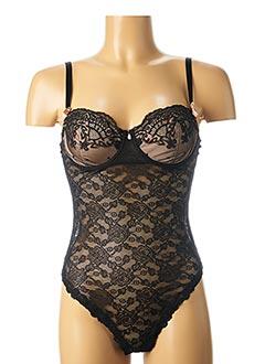 Body lingerie noir LISE CHARMEL pour femme