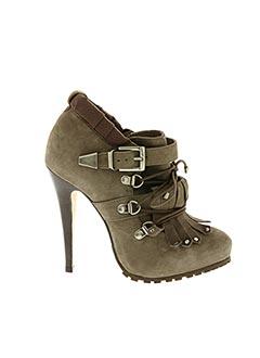 Bottines/Boots marron BUFFALO pour femme