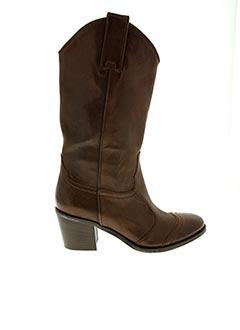 Bottines/Boots marron JANET & JANET pour femme