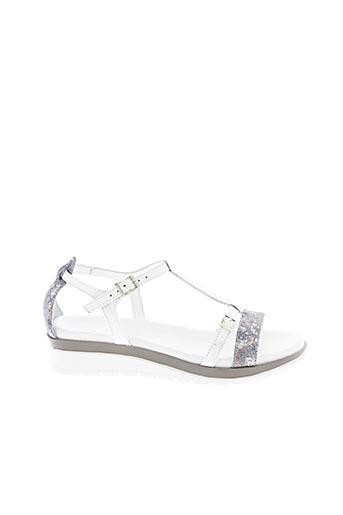Sandales/Nu pieds blanc ARRIVA pour femme