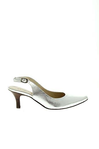 Escarpins gris FUGITIVE pour femme