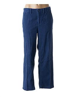 Pantalon 7/8 bleu BELLEROSE pour femme