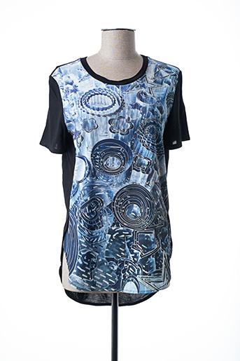 T-shirt manches courtes bleu PAUL SMITH pour femme