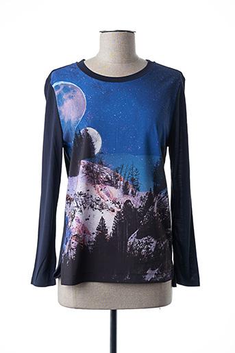 T-shirt manches longues bleu PAUL SMITH pour femme