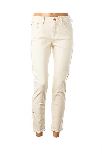 Pantalon 7/8 beige CLOSED pour femme