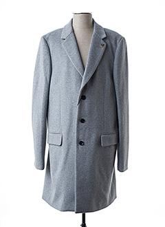 Manteau long gris SCOTCH & SODA pour homme