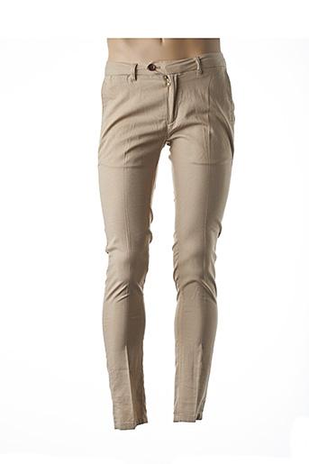 Pantalon chic beige SCOTCH & SODA pour homme