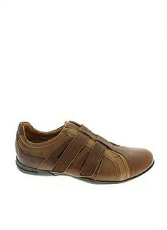 Chaussures de confort marron HIDALGO pour homme