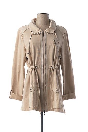 Veste casual beige BETTY BARCLAY pour femme