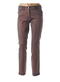 Jeans coupe slim violet GERRY WEBER pour femme