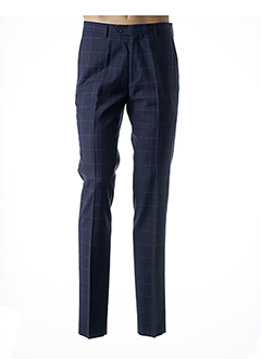Pantalon chic bleu IZAC pour homme