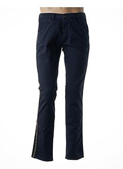 Pantalon casual bleu HAPPY pour homme