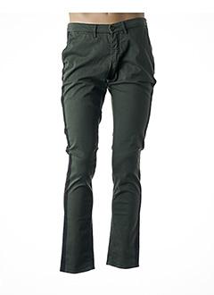 Pantalon casual vert HAPPY pour homme
