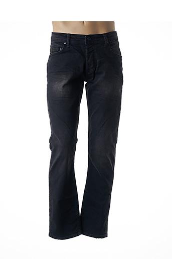 Jeans coupe droite noir BENSON & CHERRY pour homme