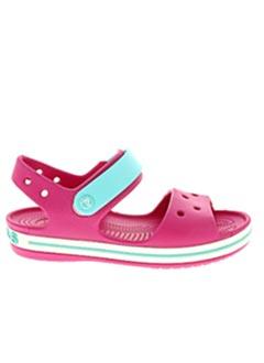 Sandales/Nu pieds rose CROCS pour fille
