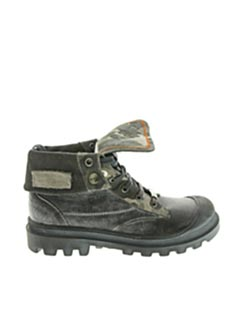 Bottines/Boots noir IKKS pour garçon