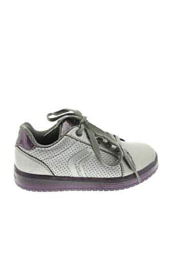 Baskets gris GEOX pour fille