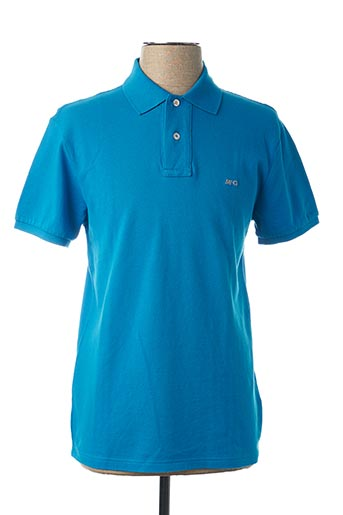 Polo manches courtes bleu MC GREGOR pour homme