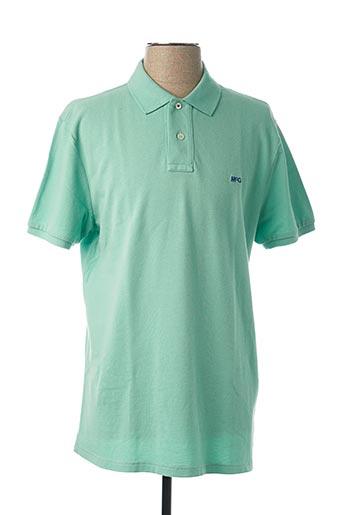 Polo manches courtes vert MC GREGOR pour homme