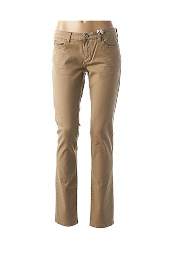 Jeans coupe slim beige GAASTRA pour femme