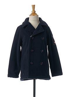 Manteau court bleu WEEK END A LA MER pour garçon