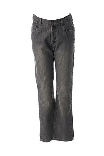 Jeans coupe droite gris 3 POMMES pour fille