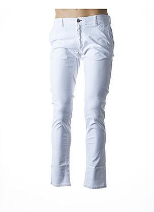Pantalon casual blanc LA CIBLE ROUGE pour homme