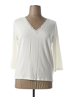 T-shirt manches longues blanc ESCORPION pour femme