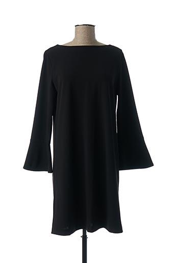 Robe courte noir I BLUES pour femme