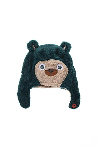 Bonnet vert BOBOLI pour garçon