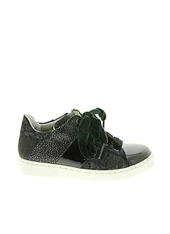 Baskets noir LITTLE MARY pour fille