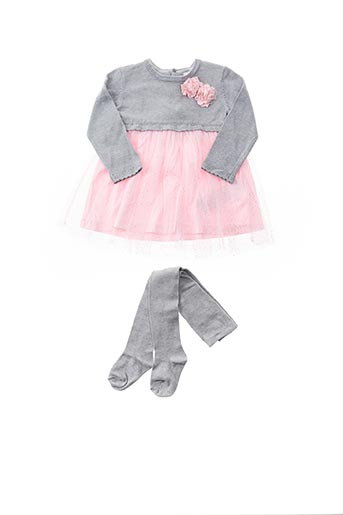 Robe pull rose LOSAN pour fille